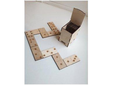 Domino dėžutėje ''Taškeliai'' 3
