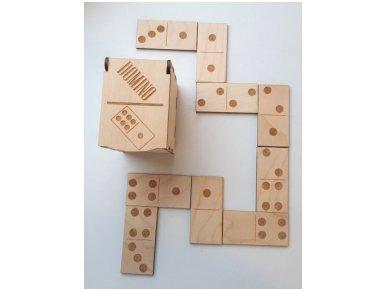 Domino dėžutėje ''Taškeliai''