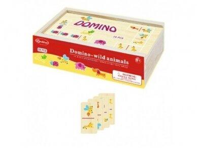 """Domino """"Laukiniai gyvūnai"""" 2"""