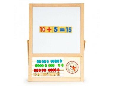 Dvipusė mokomoji magnetinė lenta 2