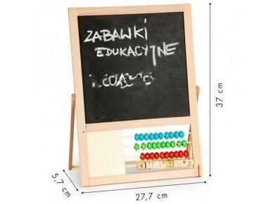 Dvipusė mokomoji magnetinė lenta 3