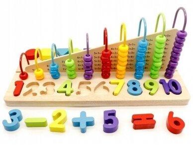 """Edukacinis žaislas """"Išmok skaičiuoti"""""""
