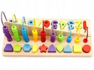 """Edukacinis žaislas """"Išmok skaičiuoti"""" 3"""