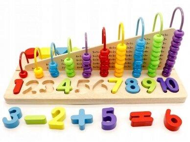 """Edukacinis žaislas """"Išmok skaičiuoti"""" 2"""