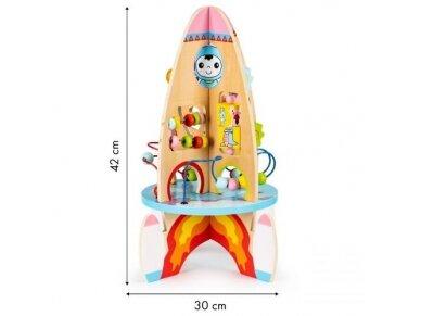 Edukacinis žaislas ''Raketa'' 5