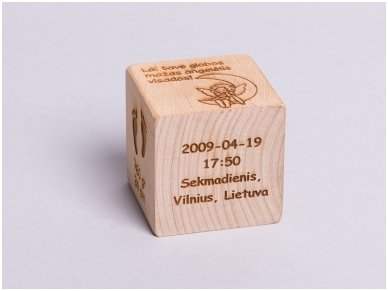 Personalized birth block 3