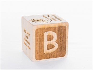 Personalized birth block 12