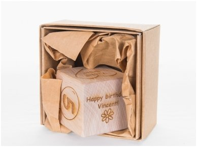 Personalized birthday block 9