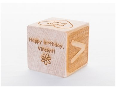 Personalized birthday block 13