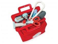Gydytojo rinkinys lagaminėlyje