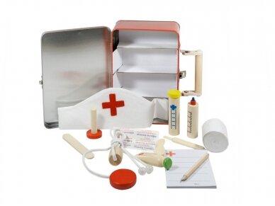 Gydytojo rinkinys dėžutėje 2