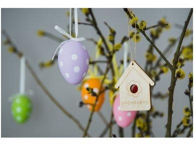 Wooden nesting-box ornament 6