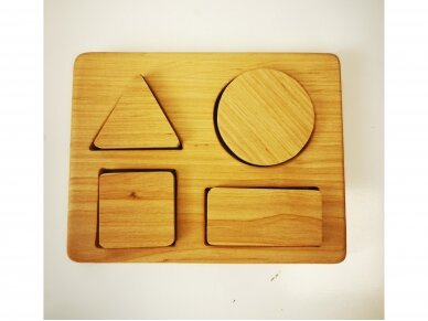 Playboard with Geometric Shapes 2