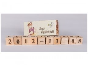Kaladėlės su skaičiukais