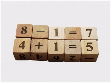 Blocks with numbers 9