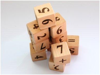 Kaladėlės su skaičiukais 7