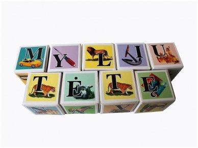 Kaladėlės su raidėmis 2