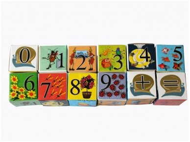 Blocks with Numbers