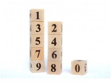 Kaladėlės su skaičiukais 3