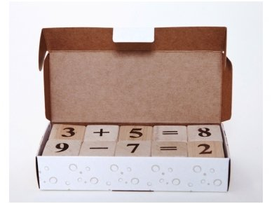 Blocks with numbers 11