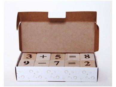 Kaladėlės su skaičiukais 11