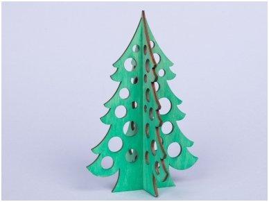 Medinė kalėdų eglė 3