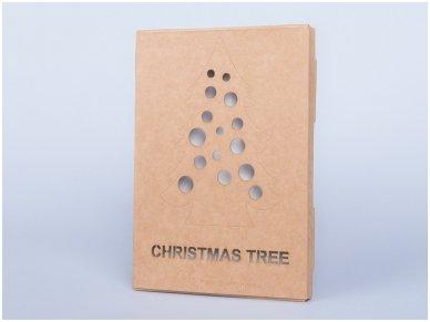 Medinė kalėdų eglė 5