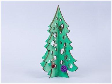 Medinė kalėdų eglė 6