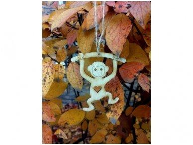 """Christmas decoration """"Monkey"""" 5"""