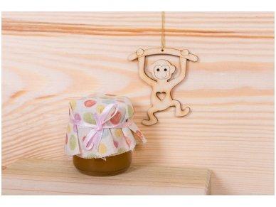 Kalėdinis žaisliukas beždžionėlė 3