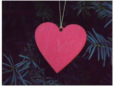 Dekoracija - širdelė 2