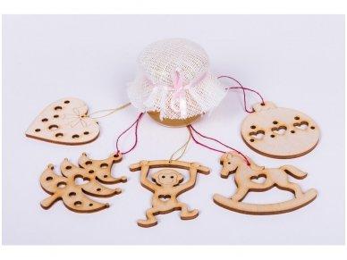 "Christmas decoration ""Heart"" 3"