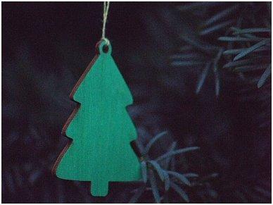 Kalėdinė dekoracija - eglutė 2