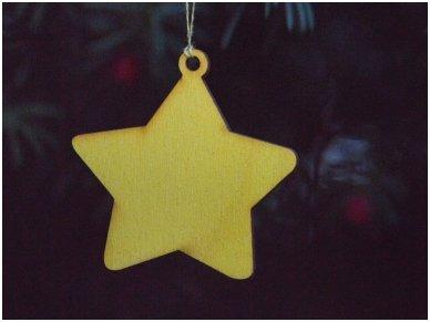 Kalėdinė dekoracija žvaigždutė 2