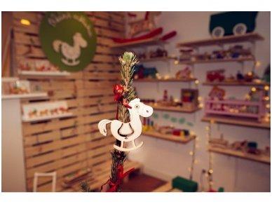 Kalėdinių medinių žaisliukų rinkinys 18