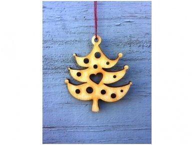 Wooden christmas decoration set 19