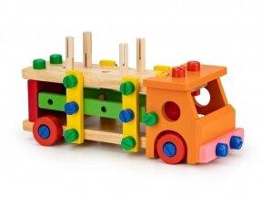 Spalvotas sunkvežimis konstruktorius