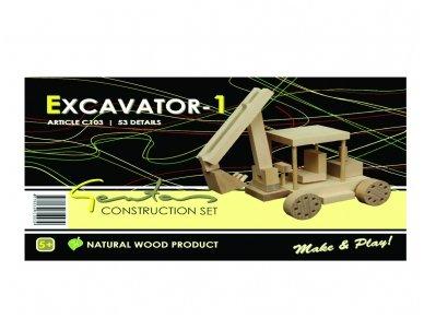 Konstruktorius ekskavatorius 2