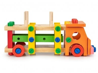 Spalvotas sunkvežimis konstruktorius 2