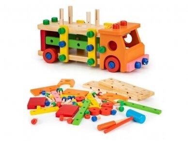 Spalvotas sunkvežimis konstruktorius 3
