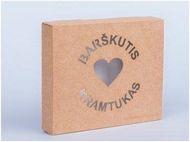 Organic wooden rattle teether 'Heart' 10