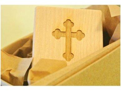 Personalized christening block 8