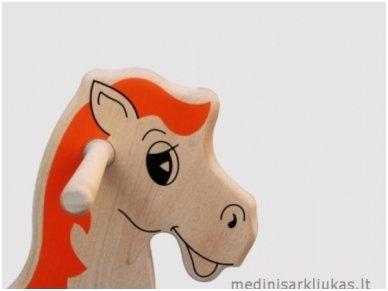 """Linguojamas arkliukas """"Mėlynbalnis"""" 4"""