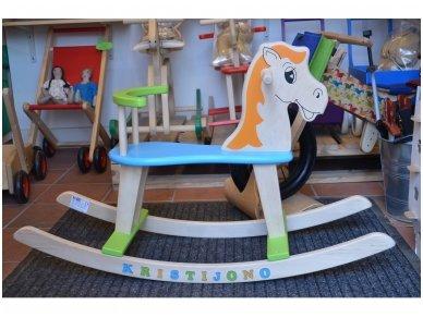 Rocking horse ''Colourful'' 7