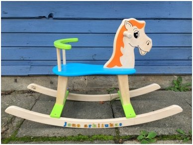 """Linguojamas arkliukas """"Mėlynbalnis"""" 2"""