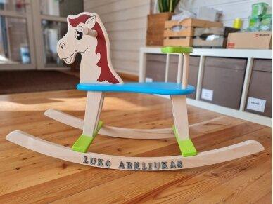 """Linguojamas arkliukas """"Mėlynbalnis"""" 14"""