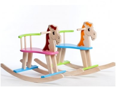 Rocking horse ''Colourful'' 3