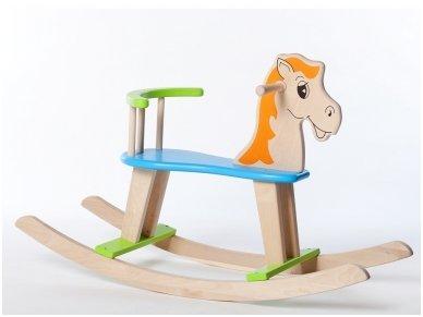 """Linguojamas arkliukas """"Mėlynbalnis"""""""