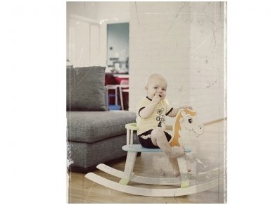 Rocking horse ''Colourful'' 10