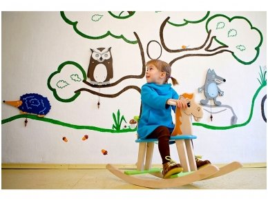 Rocking horse ''Colourful'' 6